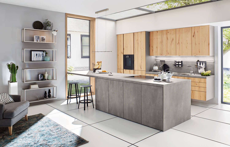 Massivholzmöbel Küche