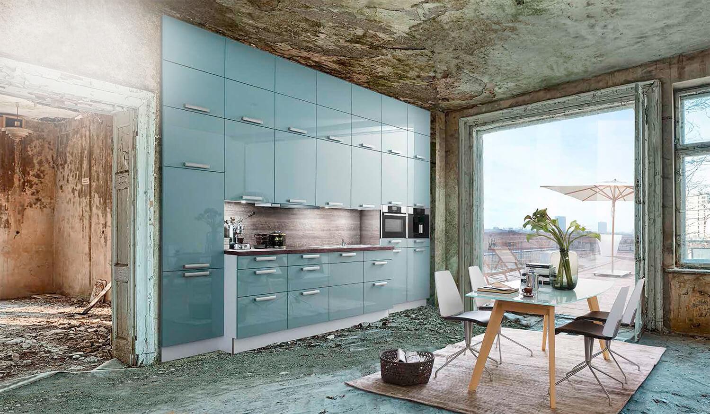 Abbruchhaus Küche