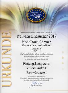 Urkunde GfM