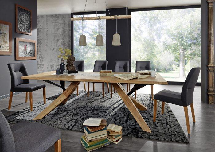 Massivholz Esstisch Donna Wildeiche