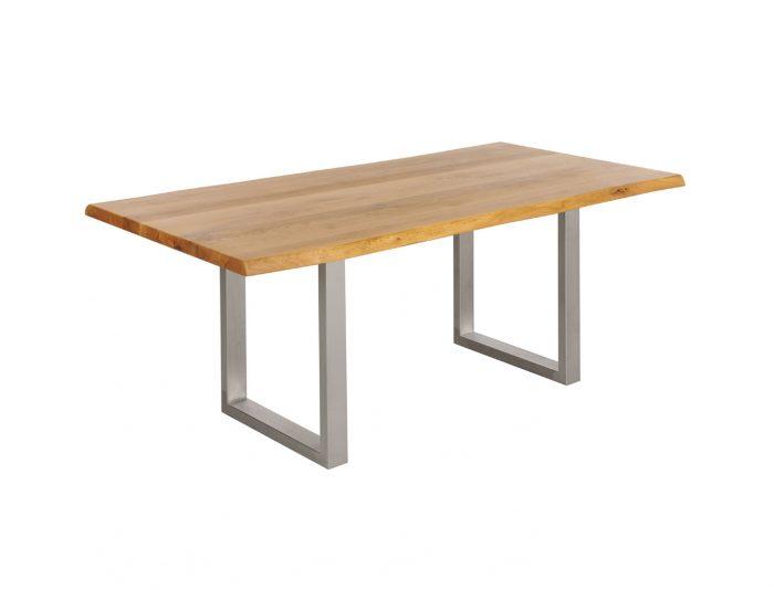 Esstisch Massivholz Metall