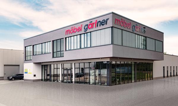 Möbelhaus Gärtner neues Gebäude in Lorsch