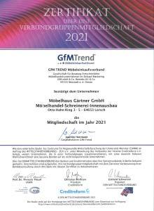 Zertifikat Möbeleinkaufsverbund